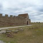 Öland - rekonstruierte Fluchtburg ca. 6. Jahrhundert, davor Originalreste