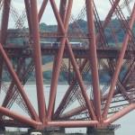 Forth Brücke - ein Gewirr von Verstrebungen