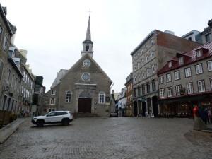 Quebec - Notre Dame des Victories und Place Royale