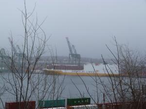 die Grande Senegal im Hafen