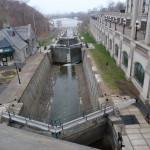 Staustufen in Ottawa, leider ohne Wasser