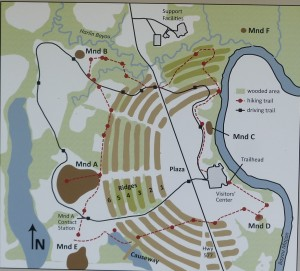 Plan von Poverty Point
