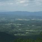 Großes Tal in den Appalachen