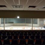 der Raum des Kontrollzentrums
