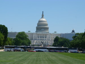Capitol - der Parlamentssitz