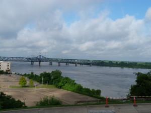 der Mississippi bei Viksburg