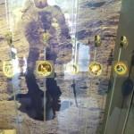 Embleme und Uhren der Apollomissionen