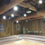 nachgebildeter Versammlungsraum