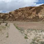 Chaco Canyon - um den Zeremonienplatz gruppiert sich Pueblo Bonita