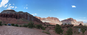 Panorama vom Capitol Reef National Park