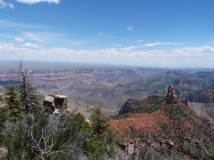 Grand Canyon - Blick zum Point Imperial