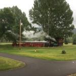Eisenbahn auf großer Fahrt
