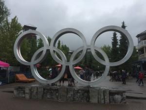 Whistler, hier waren die Skiwettbewerbe 2010