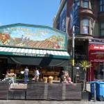 Haight Street der Blumenkinder