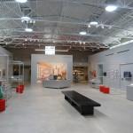 ein Großteil der Ausstellungsfläche