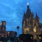 beleuchtete Kirchen...........