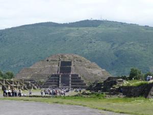 Teotihuacan - Mondpyramide