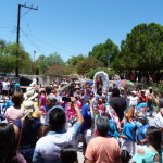 Prozession in Santa Ignacio..