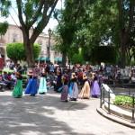 auch getanzt wird in Morelias Innenstadt