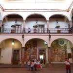 Rundbogenarkaden in Queretario