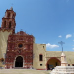 Mission Matamoros mit typischem eisernen Kreuz