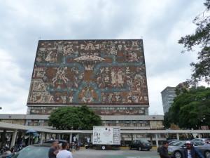 UNAM - Bibliotheksgebäude