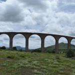 Tembleque - Panorama des Aquäduktes