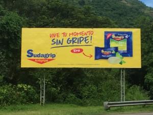Werbung für Grippemittel in Honduras????????