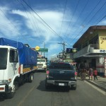 chaotischer Verkehr in Livingstone