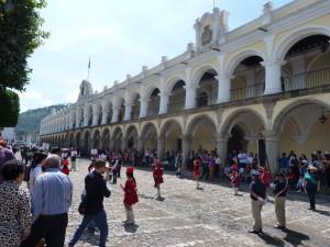 Antigua - Palast des Generalkapitäns