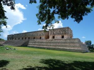 Uxmal - Palast des Gouverneurs