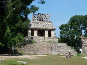 Palenque - Sonnenkreuztempel