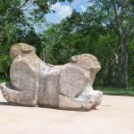 Uxmal - Skulptur
