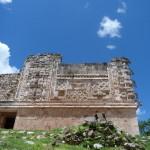 Uxmal - Reliefs am Viereck der Nonnen
