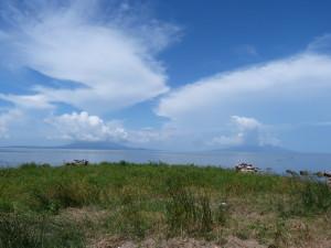 Vulkane im Nicaragua See