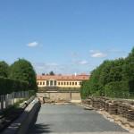 Barockgarten Großsedlitz, aber noch wird gebaut