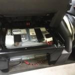 neue Batterie und auch sonst sind alle Kabel an Ort und Stelle