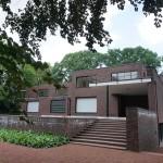 Krefeld - Haus Lange, Gartenseite