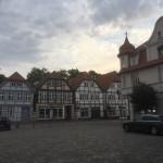Neustadt/Glewe - Häuser am Markt