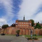 Tangermünde - Stadtmauer an der Elbe
