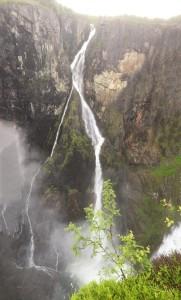 Voringfossen, der Wasserfall