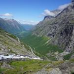 Bergmassiv des Trollstigen