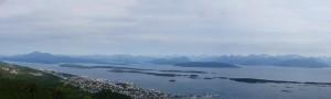 Bergmassive vom Hausberg Moldes