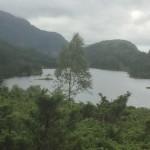 ein See in den Bergen