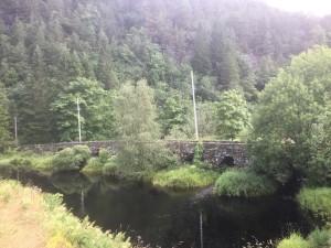 Postweg - Natursteinbrücke