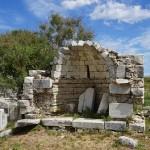 Samos - Heratempel - frühchristliche Basilikareste