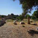 Samos - Pythagoreion - Reste eines Sportstadions