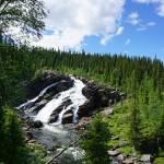 Fiskon Wasserfall