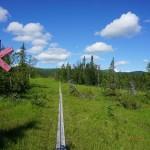 gut ausgebaute Wanderwege